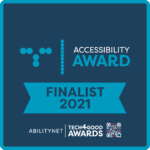 Accessibility Award Finalist 2021