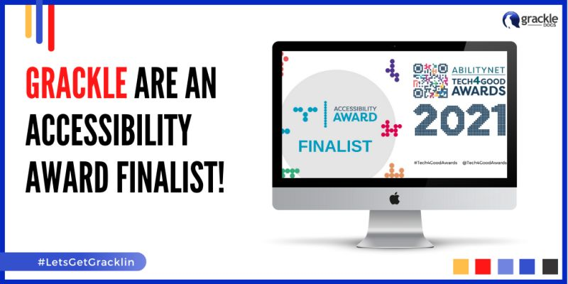 Diagram of the Grackle - AbilityNet Awards Announcement